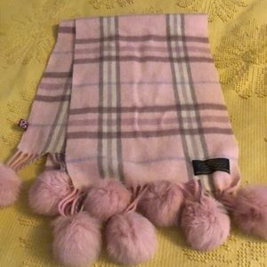 Accessories - Cashmere and fur scarf!